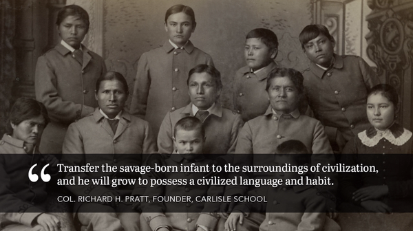 native american boarding schools essay Boarding schools and especially public schools tend to get more governmental funding and support, but american indian language and culture is less frequently included in the income.